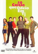 10 Things I Hate About You - Portuguese DVD movie cover (xs thumbnail)