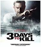 3 Days to Kill - Blu-Ray movie cover (xs thumbnail)