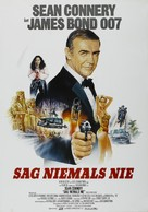 Never Say Never Again - German Movie Poster (xs thumbnail)