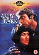 A Cry in the Dark - British DVD movie cover (xs thumbnail)