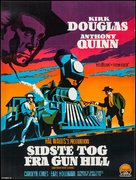 Last Train from Gun Hill - Danish Movie Poster (xs thumbnail)