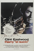 Dirty Harry - Spanish Movie Poster (xs thumbnail)