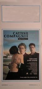 Bad Influence - Italian Movie Poster (xs thumbnail)