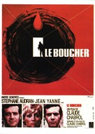 Le boucher - French Movie Poster (xs thumbnail)