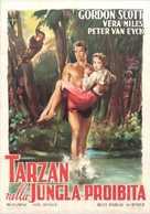 Tarzan's Hidden Jungle - Italian Movie Poster (xs thumbnail)