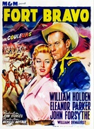 Escape from Fort Bravo - Belgian Movie Poster (xs thumbnail)