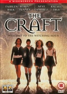 The Craft - British DVD movie cover (xs thumbnail)