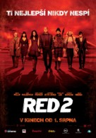 RED 2 - Czech Movie Poster (xs thumbnail)