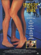 Naked in New York - Spanish Movie Poster (xs thumbnail)