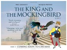 Le roi et l'oiseau - British Movie Poster (xs thumbnail)