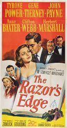 The Razor's Edge - Movie Poster (xs thumbnail)