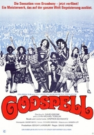 Godspell: A Musical Based on the Gospel According to St. Matthew - German Movie Poster (xs thumbnail)