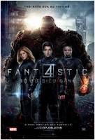 Fantastic Four - Vietnamese Movie Poster (xs thumbnail)