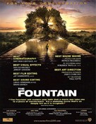 The Fountain - For your consideration movie poster (xs thumbnail)