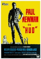 Hud - Spanish Movie Poster (xs thumbnail)