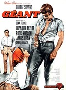 Giant - French Movie Poster (xs thumbnail)