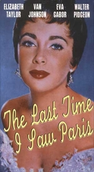 The Last Time I Saw Paris - VHS cover (xs thumbnail)