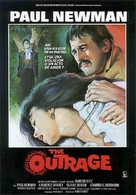 The Outrage - Spanish Movie Poster (xs thumbnail)