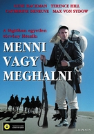 March or Die - Hungarian Movie Cover (xs thumbnail)