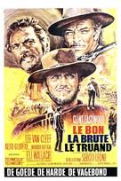 Il buono, il brutto, il cattivo - Belgian Movie Poster (xs thumbnail)
