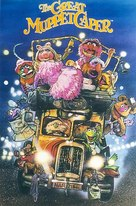 The Great Muppet Caper - VHS movie cover (xs thumbnail)