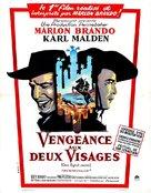 One-Eyed Jacks - French Movie Poster (xs thumbnail)