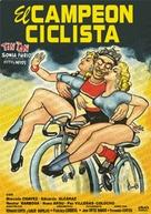 El campeón ciclista - Mexican Movie Poster (xs thumbnail)