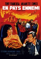 In Enemy Country - French Movie Poster (xs thumbnail)