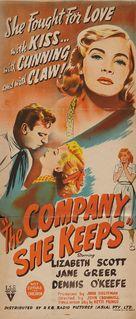 The Company She Keeps - Australian Movie Poster (xs thumbnail)