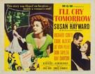 I'll Cry Tomorrow - Movie Poster (xs thumbnail)