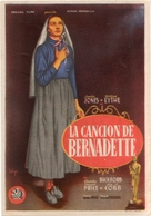The Song of Bernadette - Spanish Movie Poster (xs thumbnail)