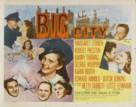 Big City - Movie Poster (xs thumbnail)