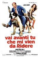 Vai avanti tu che mi vien da ridere - Italian Movie Poster (xs thumbnail)