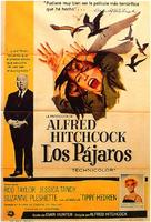 The Birds - Spanish Movie Poster (xs thumbnail)