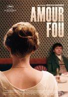 Amour fou - Swedish Movie Poster (xs thumbnail)