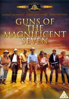Guns of the Magnificent Seven - British DVD movie cover (xs thumbnail)