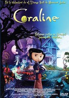 Coraline - French DVD movie cover (xs thumbnail)