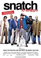 Snatch - Italian Movie Poster (xs thumbnail)