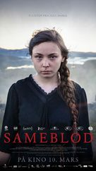 Sameblod - Norwegian Movie Poster (xs thumbnail)