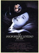 The Unbearable Lightness of Being - Spanish Movie Poster (xs thumbnail)