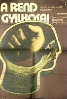 Les assassins de l'ordre - Hungarian Movie Poster (xs thumbnail)