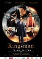 Kingsman: The Secret Service - Czech Movie Poster (xs thumbnail)