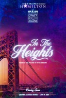 In the Heights - Swedish Movie Poster (xs thumbnail)