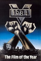 Nineteen Eighty-Four - British VHS movie cover (xs thumbnail)