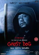 Ghost Dog - Danish DVD cover (xs thumbnail)