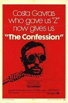 L'aveu - Movie Poster (xs thumbnail)