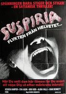 Suspiria - Swedish Movie Poster (xs thumbnail)