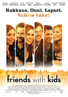 Friends with Kids - Finnish Movie Poster (xs thumbnail)