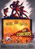 Rio Conchos - French Movie Poster (xs thumbnail)