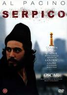 Serpico - Danish Movie Cover (xs thumbnail)